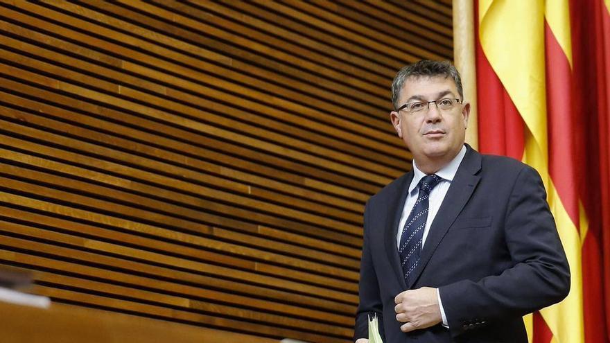 El presidente de las Corts Valencianes, Enric Morera.