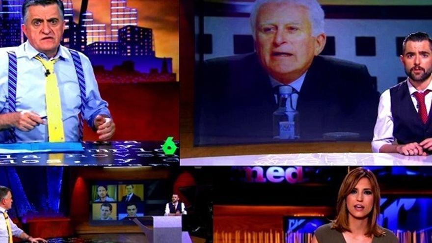 laSexta contraataca a Telecinco con dura respuesta de 'El Intermedio'