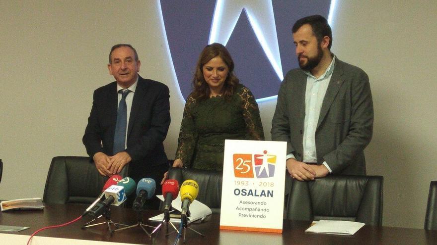Los accidentes laborales se reducen en Euskadi un 22% en los 25 años de Osalan, a pesar del incremento del 6,6% en 2017