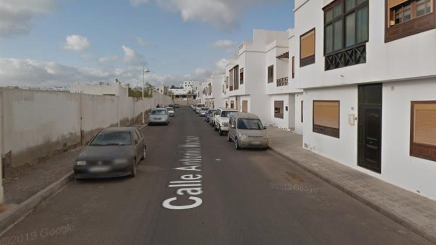 Calle Antonio Machado, Arrecife.