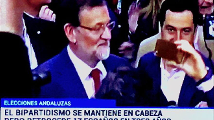 La última de TVE: maquilla la derrota del PP en las elecciones andaluzas