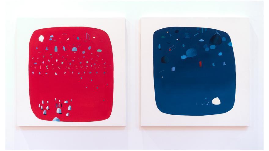 Obra: Les mots et les images. Ciel et espace de Alejandra Freymann
