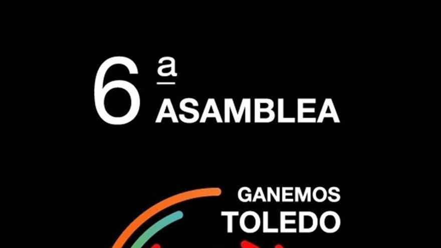 Cartel 6ª asamblea Ganemos Toledo