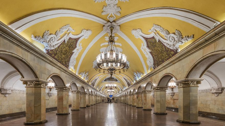 Más que un metro, un verdadero palacio.