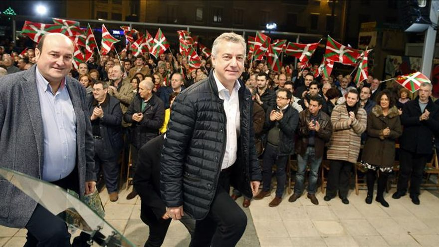 El PNV ganaría en Euskadi y EH Bildu y Podemos empatarían, según una encuesta