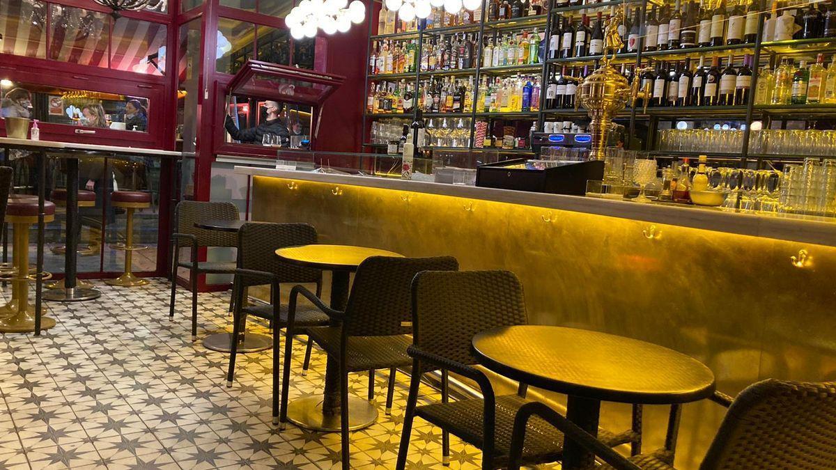 El interior de un bar de Valladolid.