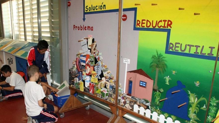 El programa 'Recíclope' está especialmente orientado a alumnos de segundo y tercer ciclo de Educación Primaria