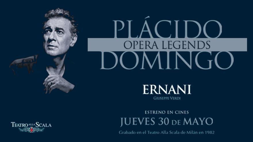 'Ernani' con Plácido Domingo