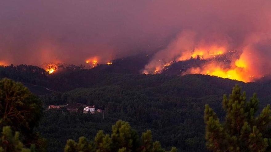 Incendio Portugal Vila Rei