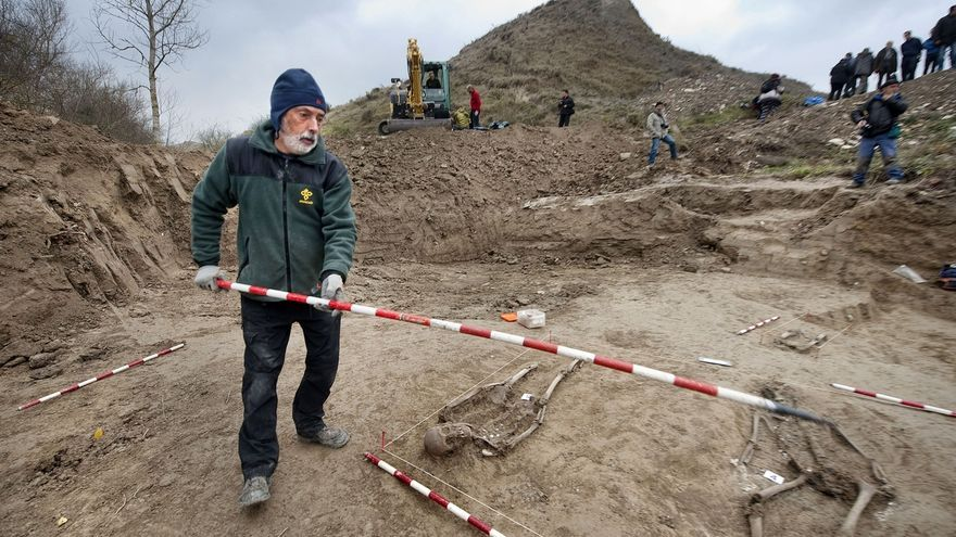 La sociedad de ciencias Aranzadi trata de localizar 25 cuerpos de fusilados en el paraje Zurbau de Ibero