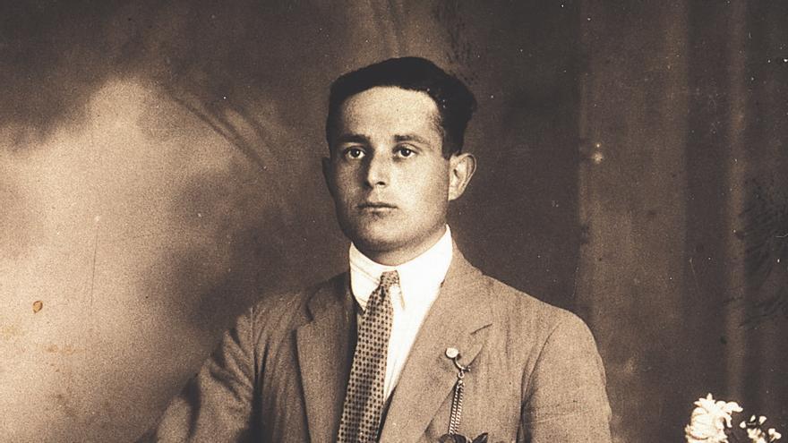 Antonio Cabrero era el alcalde socialista de Pitillas (Navarra). Foto cortesía de la familia Cabrero