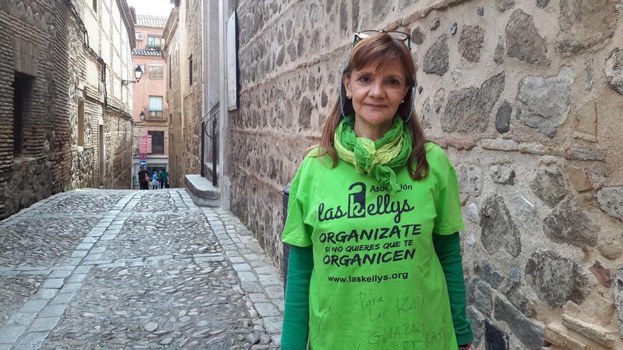 Ángela Muñoz, vicepresidenta de Las Kellys