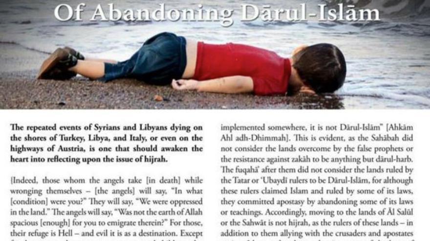 Artículo sobre refugiados en revista editada por ISIS