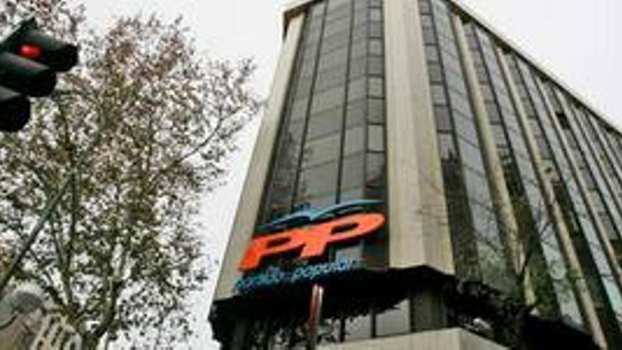 Sede del PP en la calle Génova.