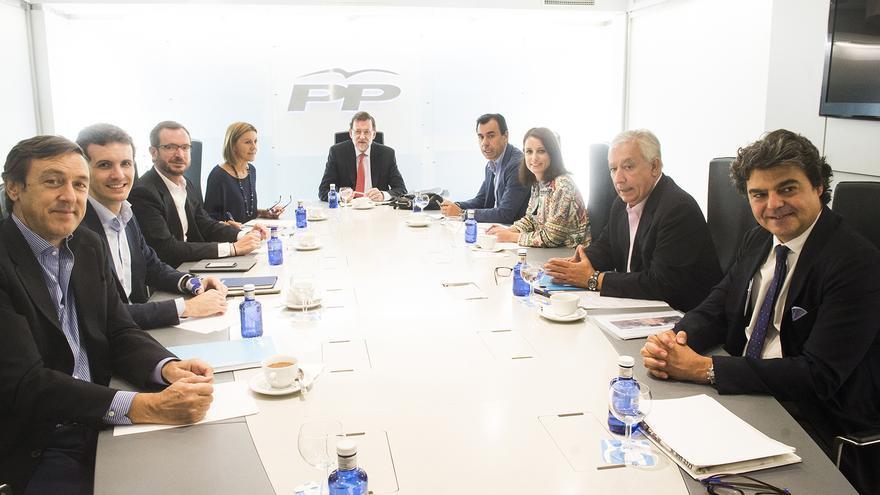 Reunión del Comité de Dirección del PP este lunes / Foto: PP
