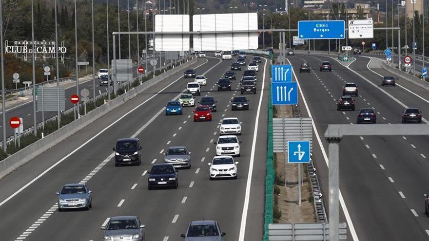 Doce muertos en once accidentes de tráfico en el Puente de Todos los Santos