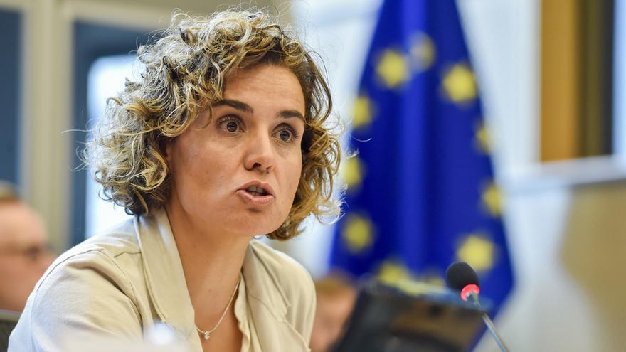 Dolors Montserrat, portavoz del PP en la Eurocámara y presidenta de la comisión de Peticiones.