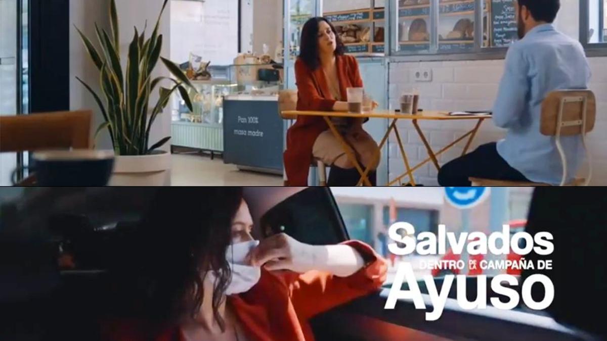 Imagen de 'Salvados' con Isabel Díaz Ayuso