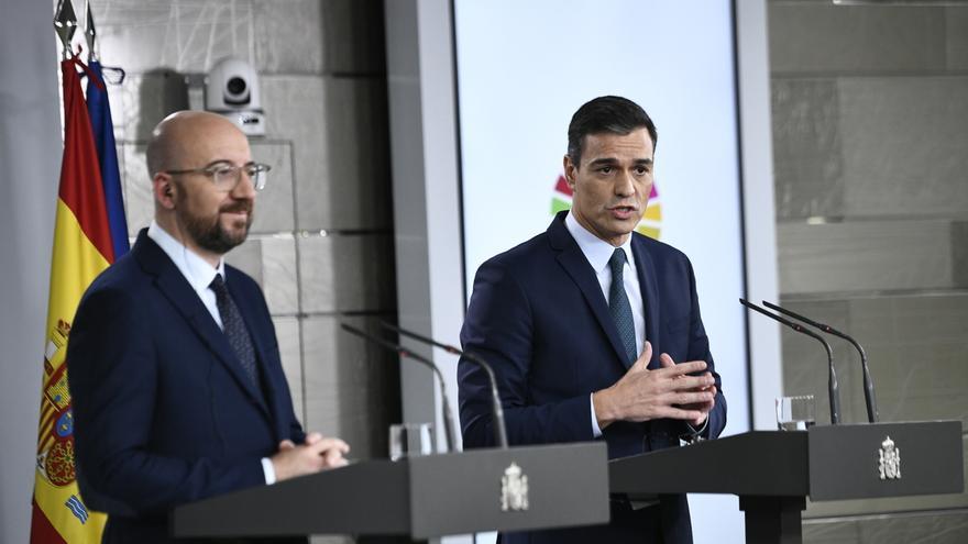 """Sánchez y 8 gobernantes piden """"alinear"""" las medidas de contención en la UE y coronabonos para financiarse"""