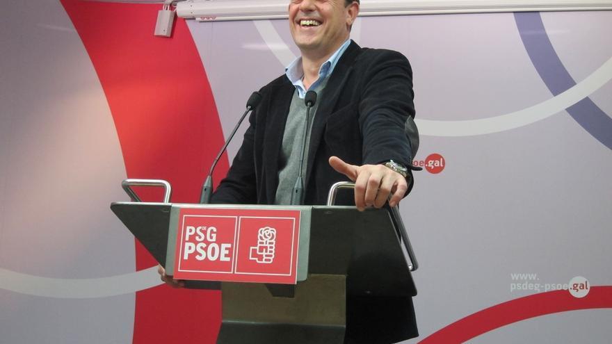 """Besteiro respalda a Sánchez y subraya que el PSOE gobierna en autonomías como Extremadura """"gracias a Podemos"""""""