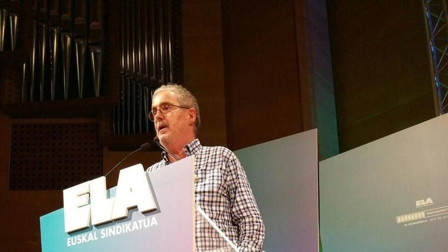 """Muñoz advierte a los """"poderes"""" político y económicos de que ELA no será """"irrelevante"""" ni """"se va a callar nunca"""""""