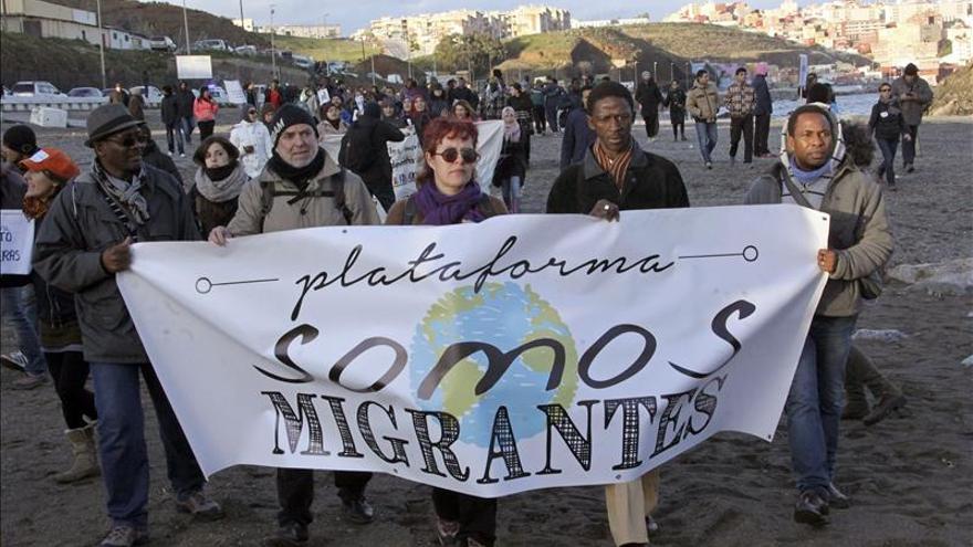 La juez dice que los agentes usaron correctamente el material antidisturbios en Tarajal (Ceuta)