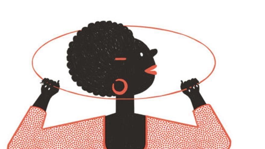 Il·lustració de Paulapé per a una campanya contra el sostre de vidre de l'Ajuntament d'Aldaia