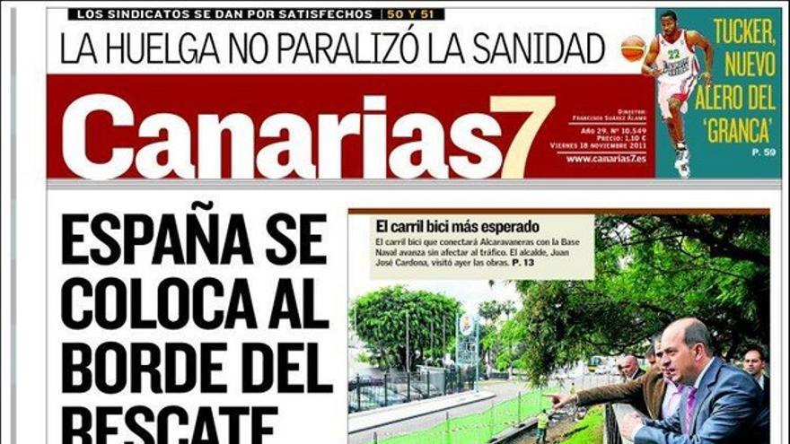 De las portadas del día (18/11/2011) #2