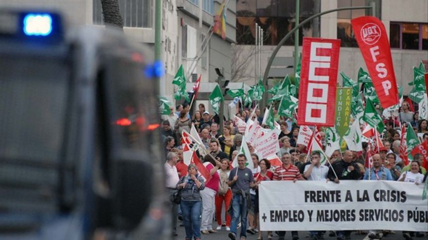 De la protesta de empleados públicos #1