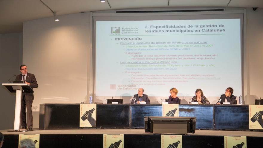 El Director General de la Agència de Residus de Catalunya, Josep Maria Tots