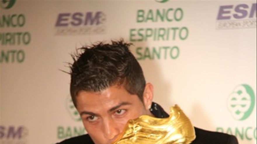 Cristiano Ronaldo Recibe La Bota De Oro