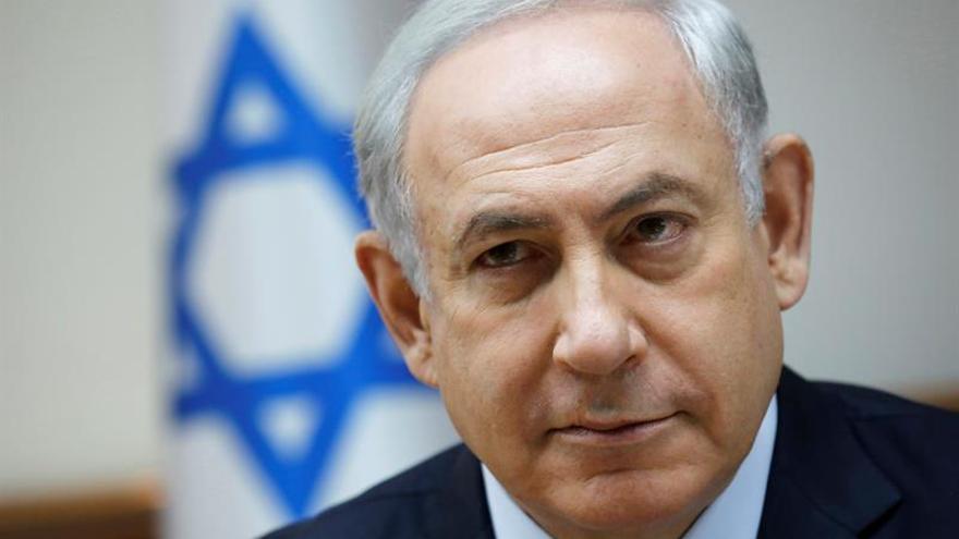 Netanyahu coloca la primera piedra para ampliar una colonia en territorio ocupado