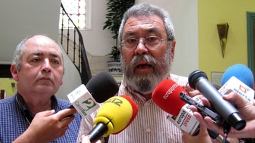Manuel Pastrana Y Cándido Méndez, En UGT-A.