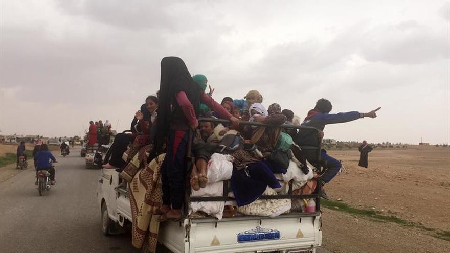 El ejército sirio arrebata al EI el control de un pueblo en el este de Hama