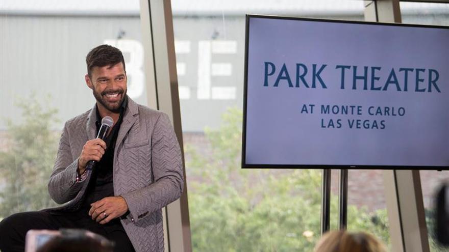"""Ricky Martin sobre su espectáculo en Las Vegas: """"Será una locura"""""""