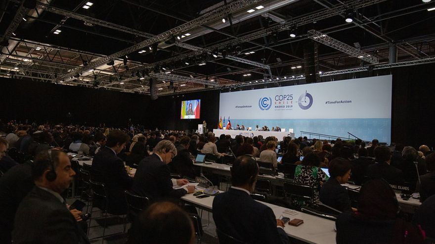 Los jefes negociadores asisten al inicio del tramo decisivo de las negociaciones en la COP25 de Madrid.