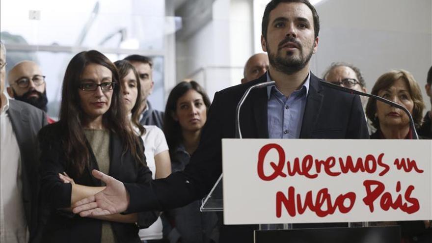 """Garzón presenta lista de Unidad Popular para llevar """"la llama del 15M"""" al Congreso"""