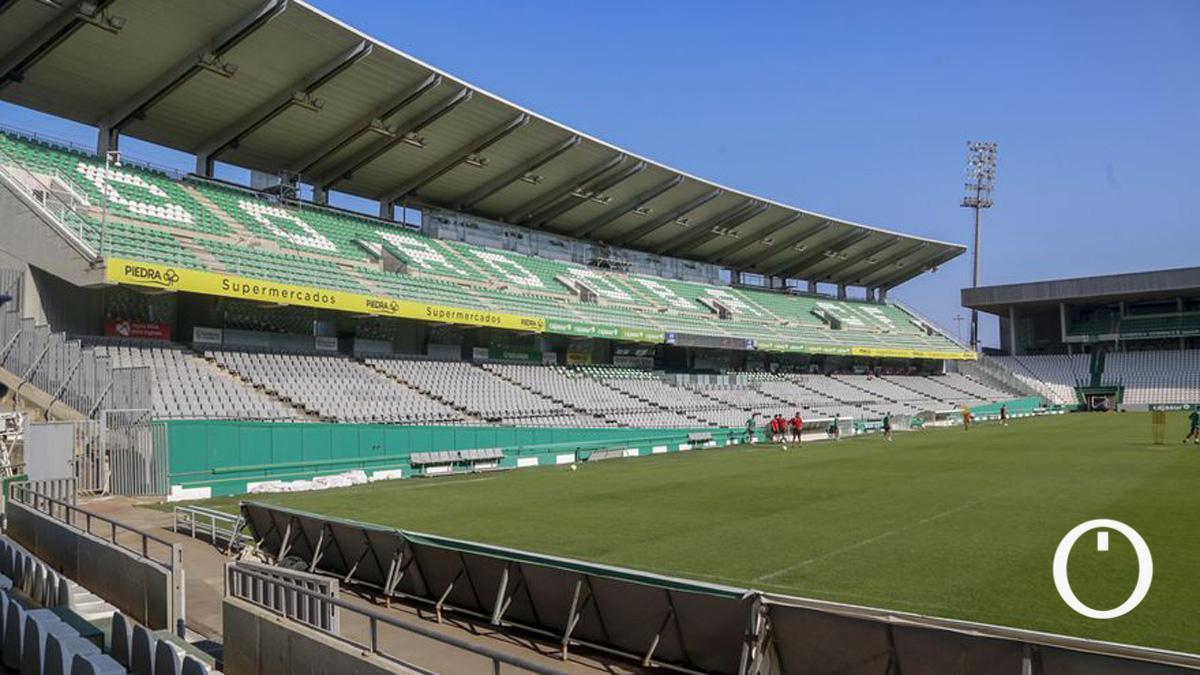 Vista del estadio El Arcángel