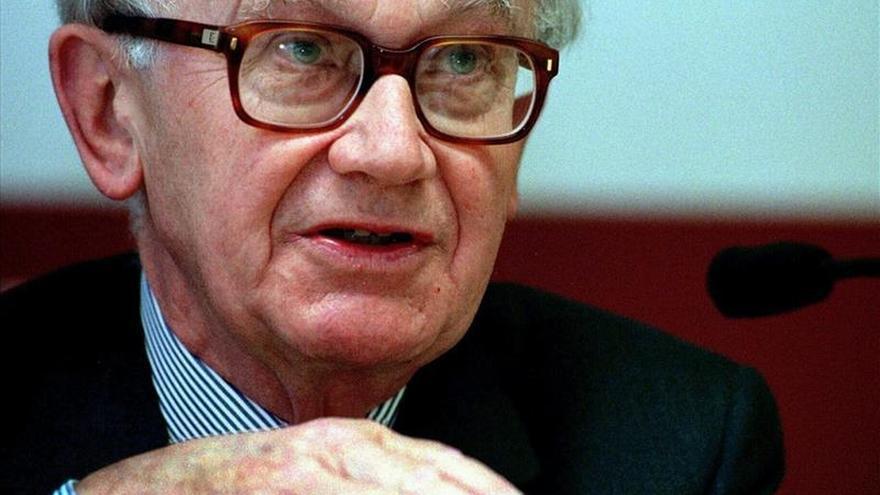 Fallece el economista belga Alexandre Lamfalussy, uno de los padres del euro