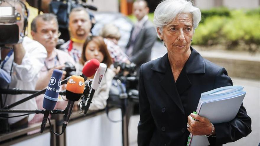 """Lagarde expresa su """"decepción"""" por la falta acuerdo con Grecia"""