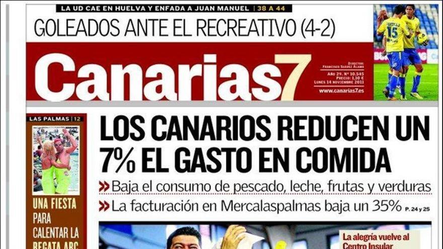 De las portadas del día (14/11/2011) #2