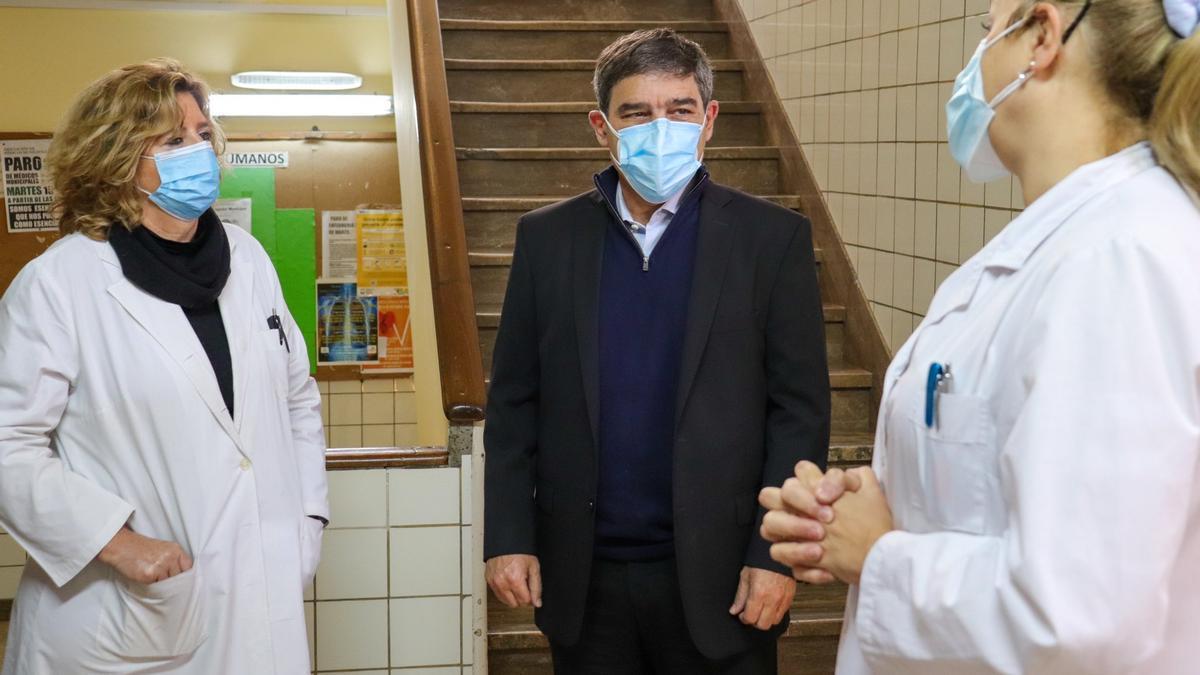 El ministro de Salud de la Ciudad de Buenos Aires, Fernán Quirós