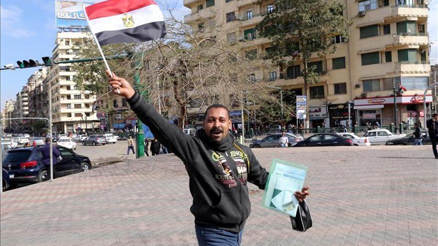 """Los protagonistas de la """"revolución"""" egipcia, entre la cárcel y el exilio"""