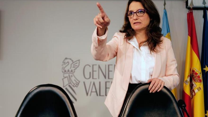 La vicepresidenta valenciana y líder de Compromís, Mónica Oltra