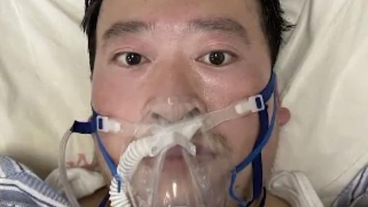 Li Wenliang, de 34 años, fue el primero en avisar de una enfermedad similar al SARS.
