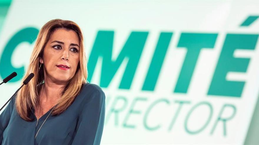"""Díaz pide a la oposición que abandone el """"insulto"""" y hable bien de Andalucía"""