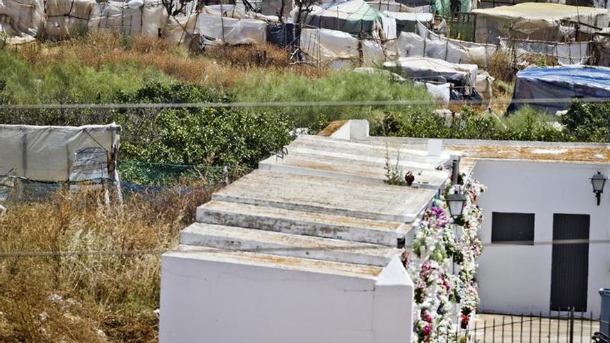 Detenido por la muerte de su pareja en una zona chabolista de Lepe (Huelva)