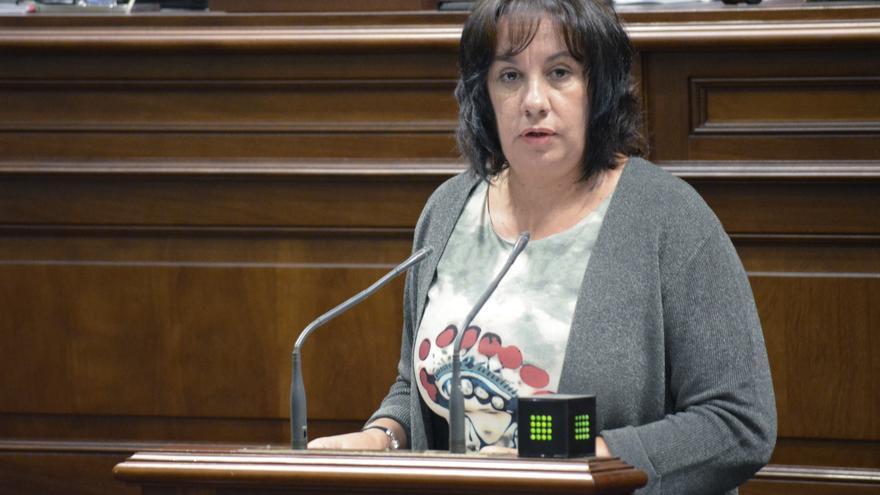 La consejera de Educación del Gobierno de Canarias, Soledad Monzón (Flickr Parlamento de Canarias)