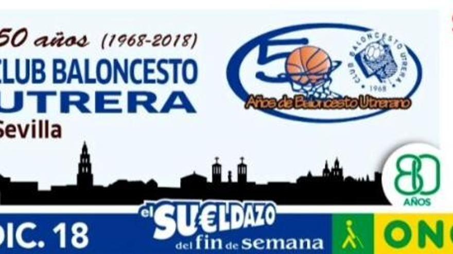 Homenaje de la ONCE al Club Baloncesto Utrera