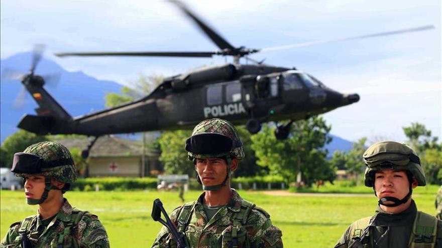 Colombia incauta al ELN 961 kilos de explosivo en zona fronteriza con Ecuador